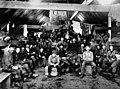 Logging camp bunkhouse interior, probably Bordeaux Brothers Logging Co near Shelton, Washington, ca 1895 (INDOCC 234).jpg