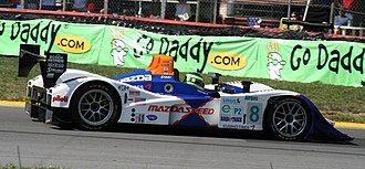 Lola B05/40 - A Mazda-powered 2007-spec B07/46, based on the B05/40.