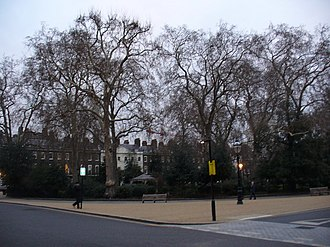 Bedford Square - Panorama of Bedford Square