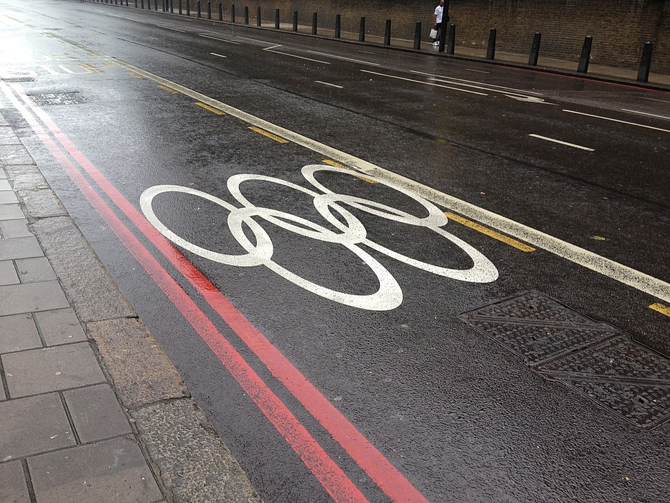 London 2012 games lane