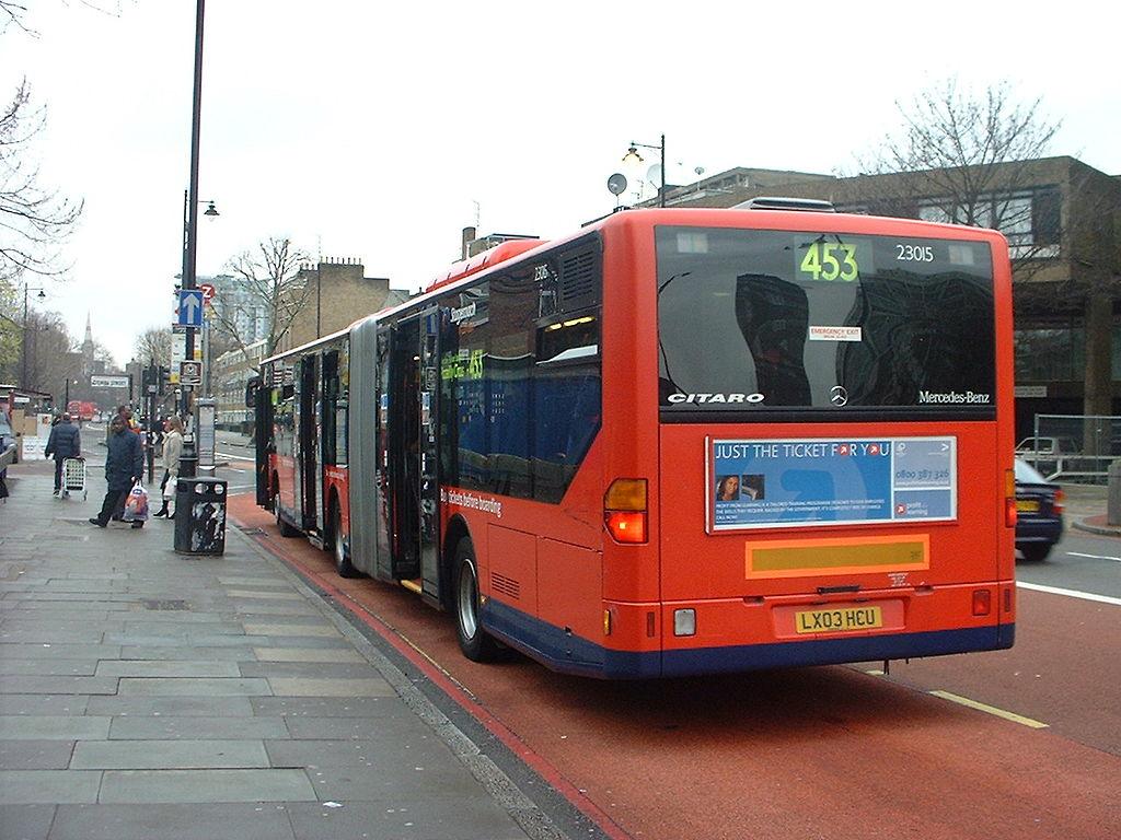 File London Bus Route 453 10 January 2004 2 Jpg