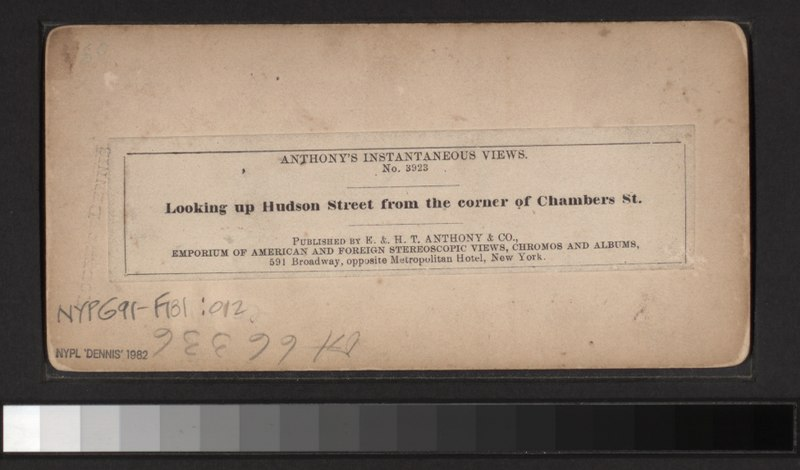File:Looking up Hudson St., from the corner of Chambers St (NYPL b11708035-G91F181 012B).tiff