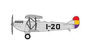 Spanish Republican Army - The Loring R-3 built for Aeronáutica Militar.
