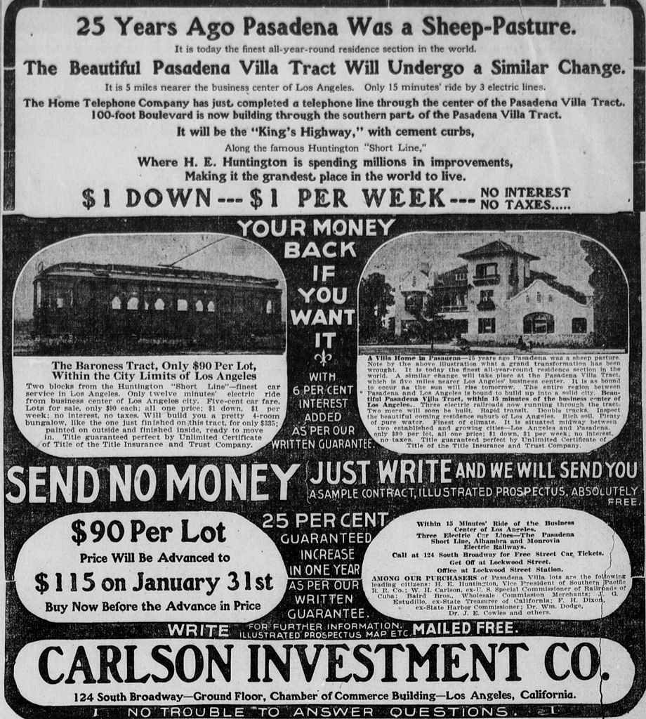 File:Los Angeles real estate ad (1905).jpg - Wikimedia Commons