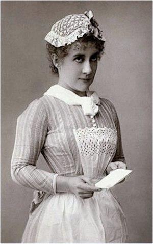 Lottie Venne - Venne in 1889