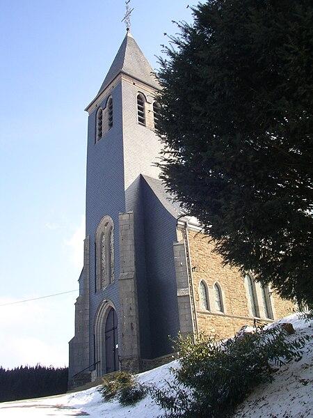 L'église de Louftémont
