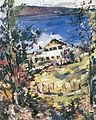 Lovis Corinth Walchensee Landhaus mit Wäscheplatz 1923.jpg