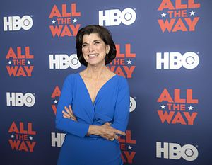Luci Baines Johnson - Johnson at the ''All the Way'' movie premiere at the LBJ Presidential Library in 2016