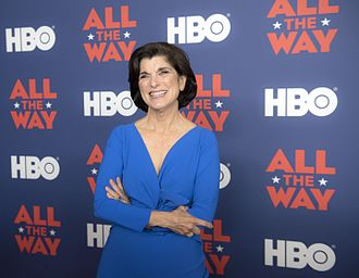 Luci Baines Johnson - Johnson at the All the Way movie premiere at the LBJ Presidential Library in 2016
