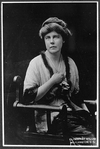 Lucy Burns - Burns in 1913