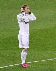 Luka Modrić contre le Séville FC, le 10 février 2013.