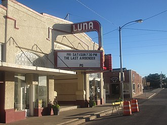Clayton, New Mexico - Image: Luna Theater in Clayton, NM IMG 4954