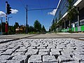 Luxembourg, construction tram avenue Kennedy (2).jpg