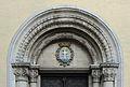 Luxembourg City St-Alphonse portal sup.jpg