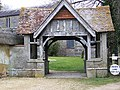 Lych gate, All Saints Church, Enford - geograph.org.uk - 1180521.jpg