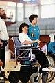 Lyn Coleman, 1992 Paralympics.jpg