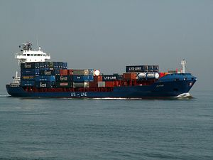 Lys Point IMO 9344253 approaching Port of Rotterdam 04-May-2006.jpg