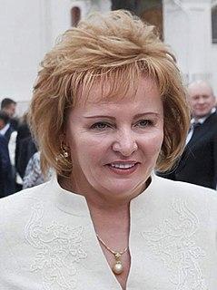 Ex-wife of Vladimir Putin
