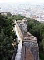 Málaga, the walls of the ruined castle Gibralfaro, image 1.JPG