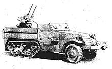 A sketch of the side view of the M13 MGMC.