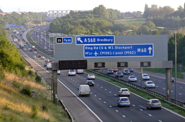 M60 motorway, Denton
