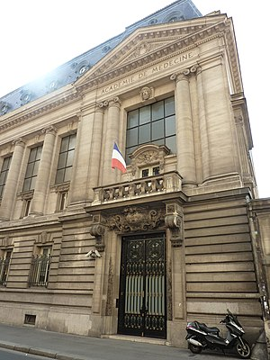 Académie Nationale de Médecine - building exterior