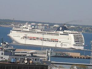 MSC Lirica departing Port of Tallinn 26 May 2012.JPG