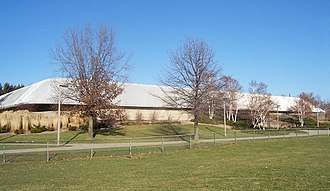 """Munn Ice Arena - Munn Ice Arena is named for former MSU football coach and athletic director """"Biggie"""" Munn."""