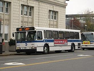 Q60 (New York City bus) - Image: MTA Bus Orion V 5949