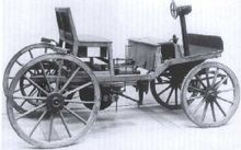 The Second Marcus Car Of 1888 At Technical Museum In Vienna