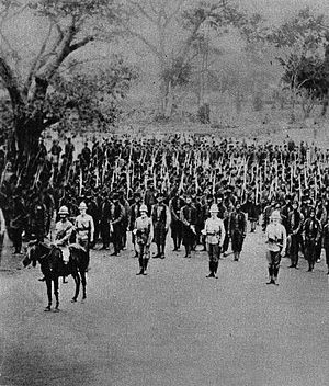 Togoland Campaign - British troops in Togoland in 1914