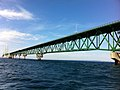 Mackinac Bridge from Straits of Mackinac during boat tour - 0032.jpg