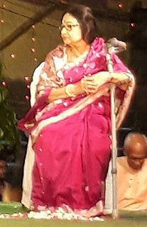 Madhabi Mukherjee Indian actress