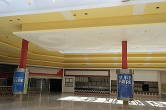 Madison Square Mall - Madison Square Mall's food court empty in 2016