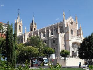 church building in Madrid, Spain