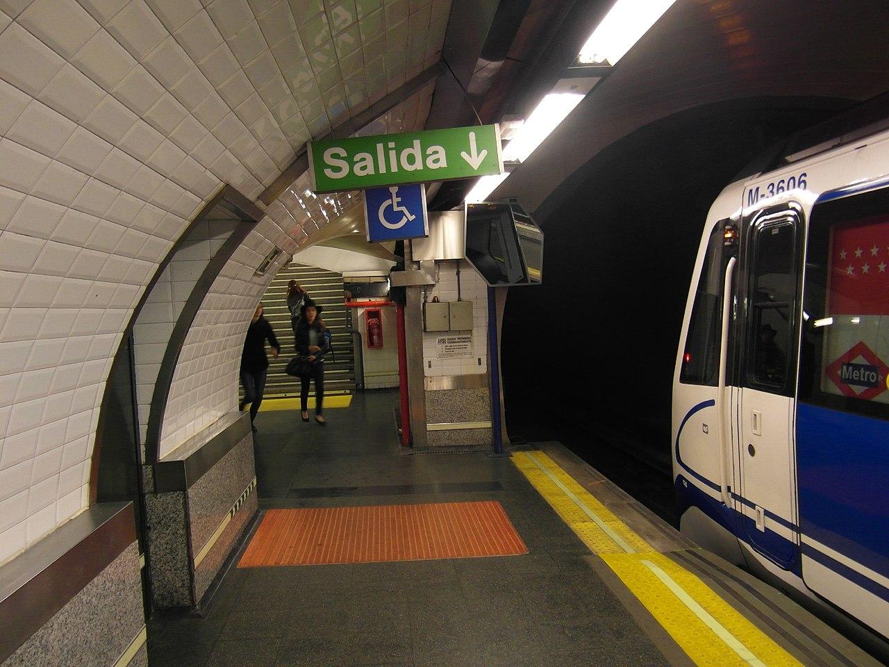 Estaci Ef Bf Bdn Espa Ef Bf Bda Metro A Se Va A Villa Borghese