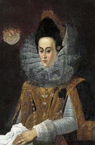 Magdalene of Bavaria - Portrait by Peter de Witte, ca. 1610
