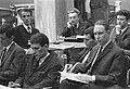 Magyar Újságírók Országos Szövetsége, újságíró iskola, tanóra a székház udvarán. Fortepan 9269.jpg