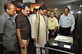 Mahesh Sharma And Prabhas Kumar Singh Watching Interactive Digital Books - NDL - NCSM - Kolkata 2017-07-11 3525.JPG