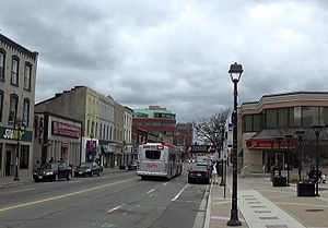 Hurontario Street - Main Street in downtown Brampton
