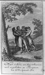 Major André, von drey Americanern angehalten zu Tarrytown am 23ten Septembr. 1780.jpg