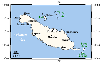Makira - Makira and nearby islands