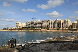 Sliema - Sliema skyline from Balluta