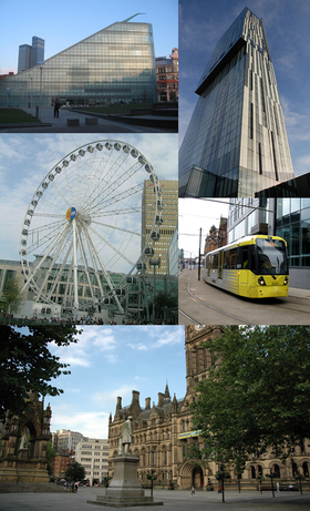 A montage of Manchester