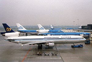 China Airlines Flight 642 - A Mandarin Airlines MD-11 similar to the aircraft involved