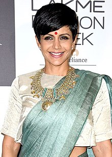 Mandira Bedi on Day 2 of Lakme Fashion Week 2017.jpg