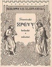 Rukopis královédvorský – Wikipedie