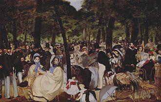 Albert de Balleroy - Image: Manet Musique aux Tuileries rep