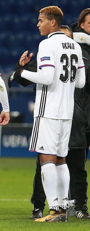 Manuel Akanji - Akanji with Basel in 2017
