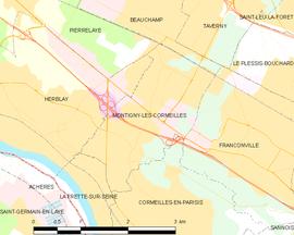 Montigny l s cormeilles wikip dia - Montigny les cormeilles code postal ...